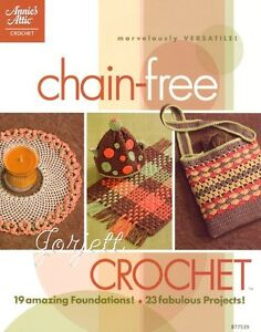 Chain-Free Crochet, Annie's crochet patterns & how-to's