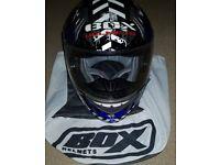 BOX Biohazard SIZE S motorcycle helmet