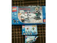 Lego sets 65182, 3544,10127