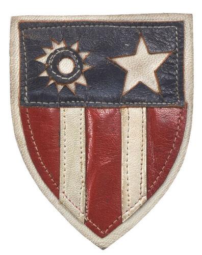 WWII AAF CBI Leather Shoulder Patch