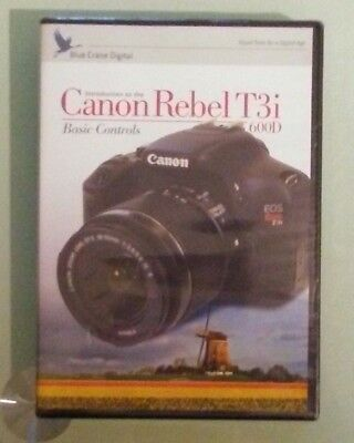 blue crane digital INTRODUCTION TO THE CANON REBEL T3i  basic controls  DVD NEW  Blue Crane Dvd