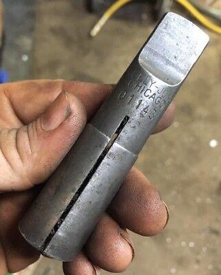 Sj 01143 58 Hand Tap Morse Taper 3 Collet Metal Lathe Southbend Atlas Craftsman