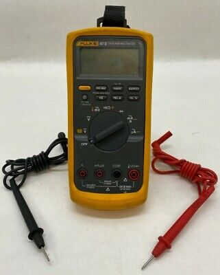 Fluke 87 V True Rms Digital Multimeter W Leads He2030221