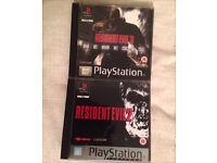 Resident evil 1&2 like new