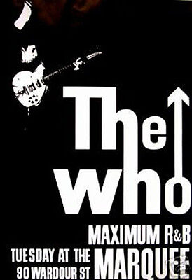 #4044 The Who On Stage Poster 24X36