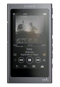 Sony NW-A45B 3.1 Inch Hi-Res Walkman 16GB MP3 Player - Black