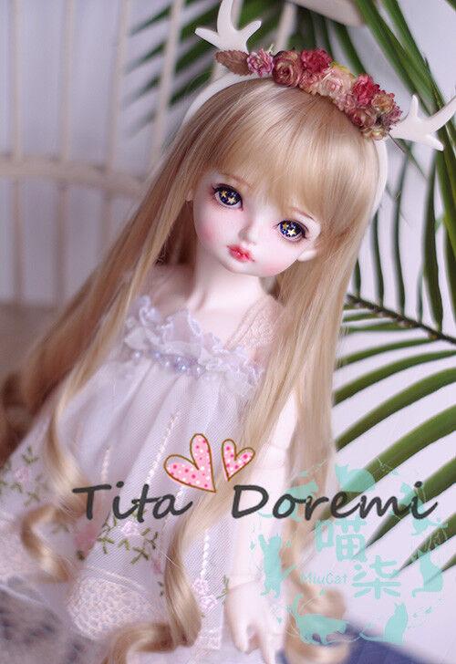 Poupée Perruque BJD 1//3 8-9 Bjd Wig DD UNCLE AOD DZ SD DOD LUTS Dollfie Doll