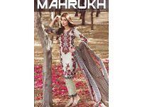 MAHRUKH DESIGNER COLLECTION WHOLESALE ORIGINAL LAWN PAKISTANI SALWAR SUITS