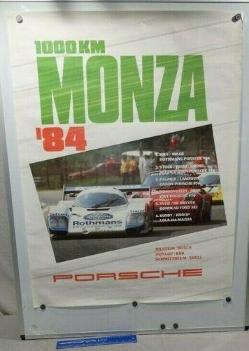 1984 PORSCHE / 1000KM MONZA Genuine Factory Poster Original.