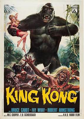 """""""KING KONG"""" Movie Poster [Licensed-NEW-USA] 27x40"""" Theater Size (1933) (ALT B)"""