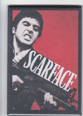 Scarface Al Pacino Movie Poster Fridge Magnet Locker Magnet 2x3
