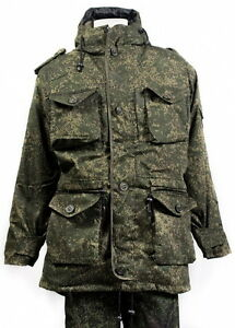 Genuine ALL SIZES Russian Army Uniform Jacket Parka Military Original Ripstop