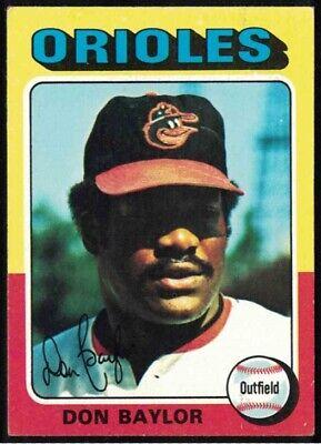 1975 Topps #382 Don Baylor EX+