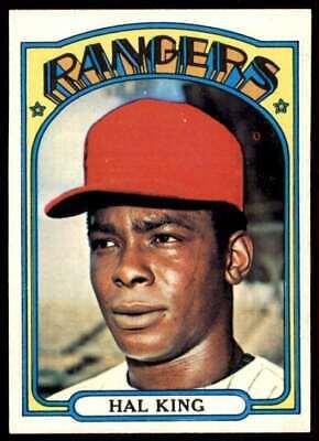 1972 Topps Hal King Texas Rangers #598
