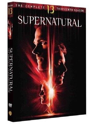 NEW Supernatural Season 13 (DVD, 2018,6-Disc Set) Brand New Sealed