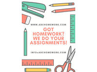 Homework? We can help
