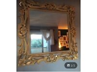 Beautiful Yellow and Gold Mirror