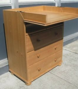 IKEA dresser with change table