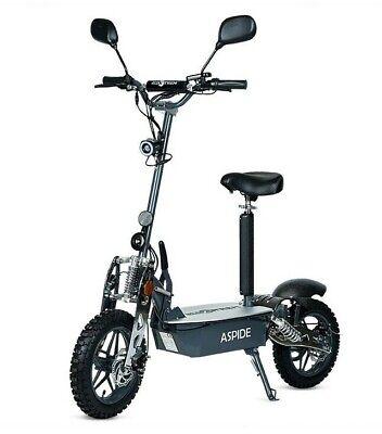 Patinete electrico Ecoxtrem 2000w scooter patin sillin Aspide ruedas tacos metal