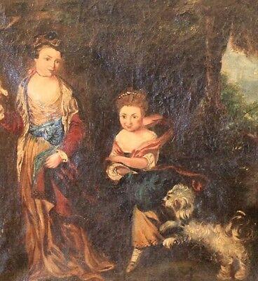 Vans Sale Kids (Antique Painting Van Rensselaer Children from Estate of Abigail Adams)