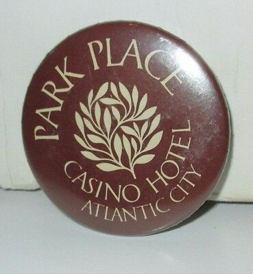 Park Place 80S Pinback Button Pin Atlantic City Nj Casino Resort Hotel Lot 2