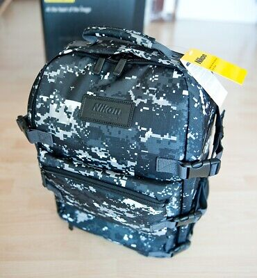 Nikon Military Camera Backpack, Black Color DSLR Camera