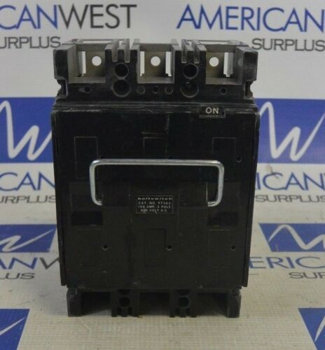 BOLTSWITCH PT363 3P 600V 100 AMP - USED