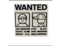 Lego wanted