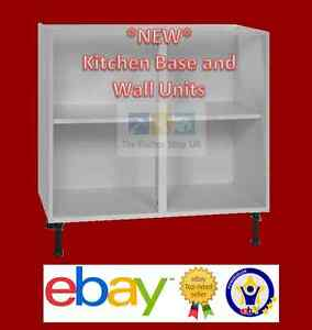 New kitchen base units wall cabinets ebay for Kitchen unit set