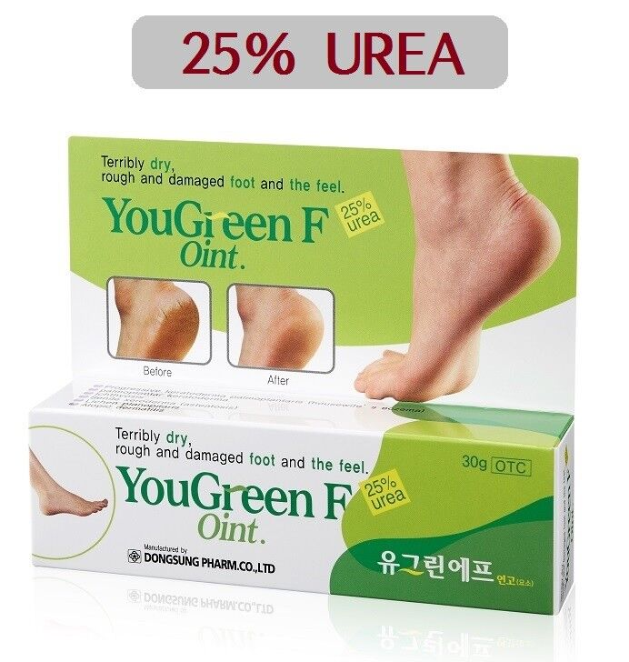 YouGreen F Dry Cracked Feet Repair Foot Cream 25% UREA Treat