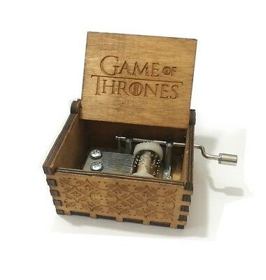 Hand of Game Thrones scatola decorativa in legno Carillon Music Box Collezione