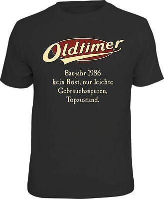 T-Shirt für den Oldtimer 1986 zum Geburtstag Rentner Geschenk Gr. S-XXL  1986   ()