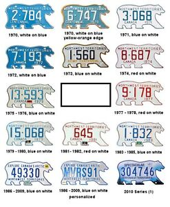 WANTED: Old NWT License Plates!!!