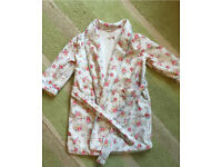 Girls Cath Kidston Dressing Gown age 2-3