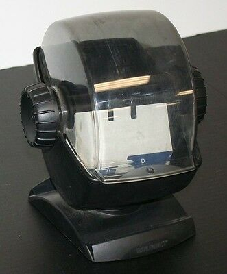Vintage Rolodex Large Swivel Base Rotary 2.25 X 4 A-z Divider Cards Tinted