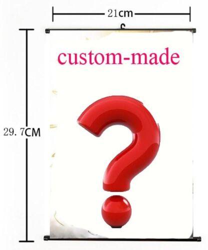 Customized Wall Scroll Poster Home Decor Custom-made Japan Anime  21*30CM