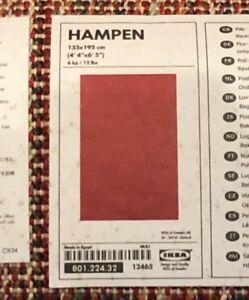 RUG HAMPEN IKEA RED - 2