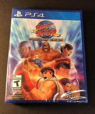 Street Fighter   30Th Anniversary Collection     Ps4  New