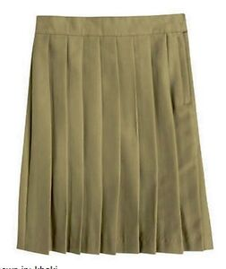 French Toast Pleated Skirt Khaki/Navy/Burgundy  NEW  School Uniform
