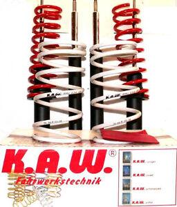 Sportfahrwerk Fahrwerk BMW E34 80/20mm mit original KAW - Federn NEU