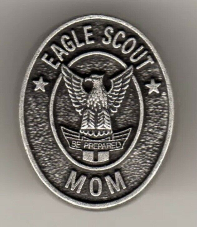 Eagle Scout Mom Recognition Lapel Pin Pinback