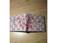 Brand New Unisex Gucci Snake print wallet
