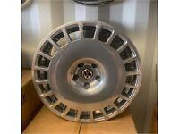 "Genuine original 18"" VW rotiform alloy wheels"