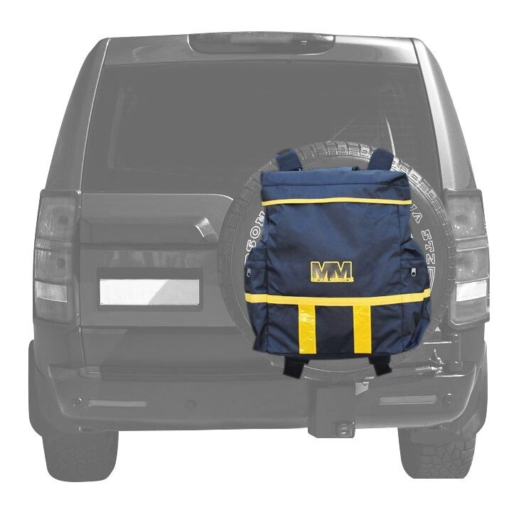 4WD Spare Rear Wheel Storage Bag for Dirty Recovery Gear Anti Theft Mean Mother