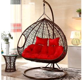 Brand New Double Hanging Egg Chair Garden Furniture