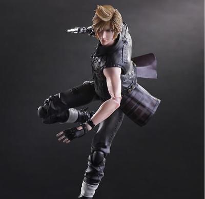 Play Arts Kai Final Fantasy XV FF15 Prompto Argentum Action Figur Figuren Toy'