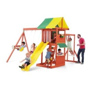 Outdoor Playset, Like New!