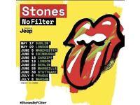 Rolling Stones No filter Tour @ London Stadium £170 PER TICKET