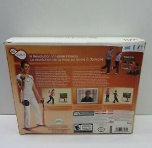 BUNDLE Nintendo Wii Active Personal Trainer Exercise Fitness