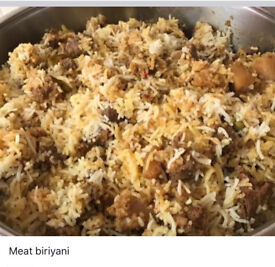 Gourmet/Homemade Indian food.